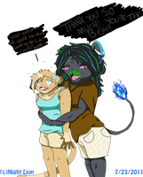 Gift:THANK YOU, MAEII by Night-Lion