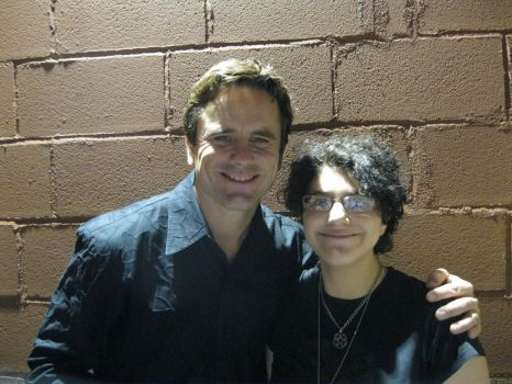 with Chip Esten by 666pyrocharmedgirl