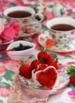 Homemade Strawberry Jam by theresahelmer