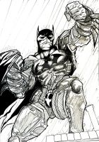 Batman Arkham by Teen-H