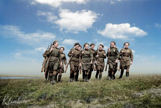 Female snipers. The 2nd Byelorussian Front by klimbims