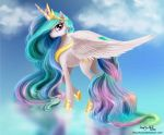 Princess Celestia by PaintedHoofprints