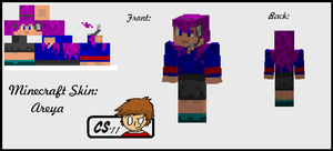 Minecraft skin - Areya by SuperNess1000
