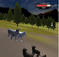 My Pack on Wolfquest by Anime210freak