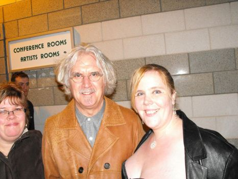 Me with Billy Connolly by Uncharted-Deception