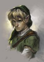 Link sketch by gerezon