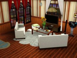 My Sim's House: Entertainment by zzpopzz