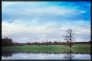 Country Lake Front by LShepherd