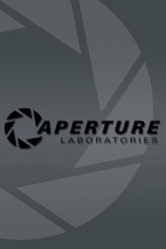 Aperture Labs Background - IPhone by Dragon181