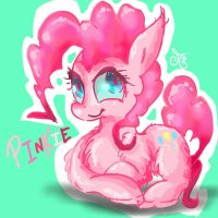 Pinkie Pie without details by ChibiWendy