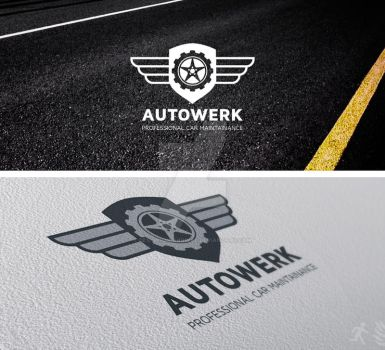 DOA Autowerk Logo Template by design-on-arrival