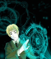 :APH: Sorcerer by Inupii