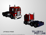 Transformers: IGNITION - Optimus Prime (Alt Mode) by KrisSmithDW