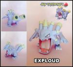 exploud papercraft by javierini