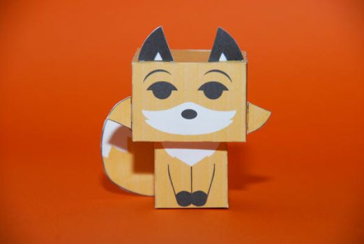 Reynard the Fox cubeecraft by scarykurt