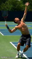 Unidentified Tennis Player by serge300d