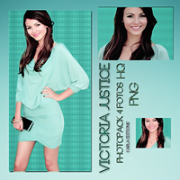 Victoria Justice photopack PNG by karlay16