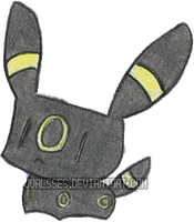 Umbreon Chibi by Joalsses