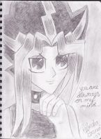 Yami thinks of you by systemgirl