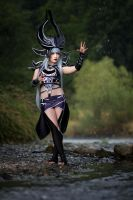 Syndra League of Legends Cosplay by Hikarux33