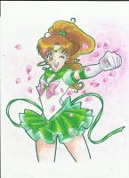 Sailor Jupiter vol. 4 Cover by Aino-Fred