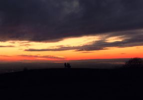 Sunset from the beacon by sophhks
