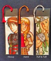 HTTYD Bookmarks by Marlin-Rae