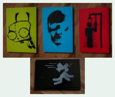 Notebook Stencils by Custard-Cream