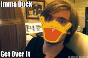 PewDie's A Duck,Get Over It Vers.1 by Emily4457