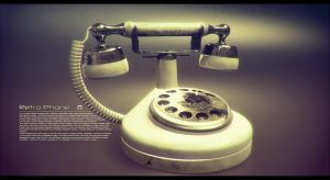 Retro Phone by djreko