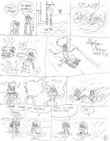 Aquatic interlude of Kendall and Wendy page 1 by stephdumas