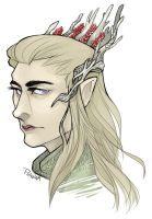 Thranduil by phantomeus