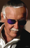 Stan Lee - EXCELSIOR by ArchXAngel20