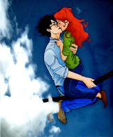 Harry and Ginny by tain125