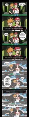 Just Like Old Times - Comic and Video by Gabasonian