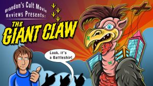 Brandon Tenold Presents - The Giant Claw by earthbaragon