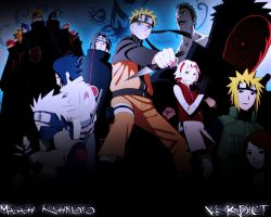 Naruto wallpaper ( Road to Ninja ) by VeRDICT040