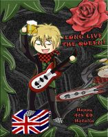 4th CD Hetalia - UK by YakumoKaiba