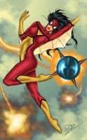 Spider-woman attacked by N-o-X-i-S18