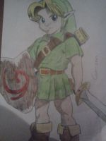 OoT - Young Link by Cam-san