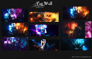 Tag wall by Tueur22