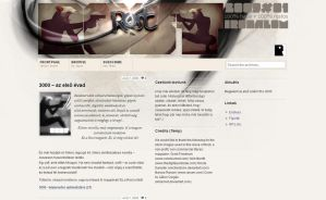 Rost Magazine site beta by gaborcsigas