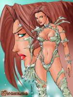Witchblade Color by Claret821021