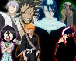 Bleach Characters by soulreaper21