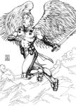 Angel 1 (2007) Inks by SteveAndrew