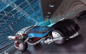 Karmelion Concept Car by paulwesley222