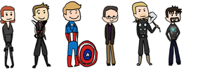 The Avengers are Awesome by kitkatblack
