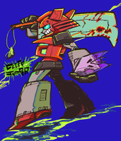 CLIFFJUMPER by amtkrs