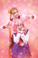 Usagi and Chibiusa 2 by Usagi-Tsukino-krv