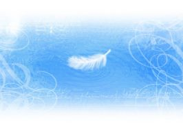 Feather and Water by mayflo